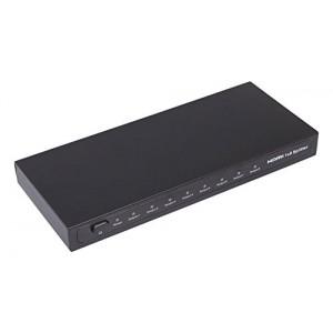 C&E® HDMI 1x8 Splitter