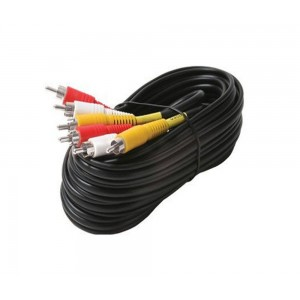 C&E® 3-RCA Composite Video/Audio Cable 6 Feet