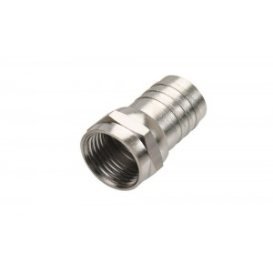 C&E® F Hex Crimp Connector RG59
