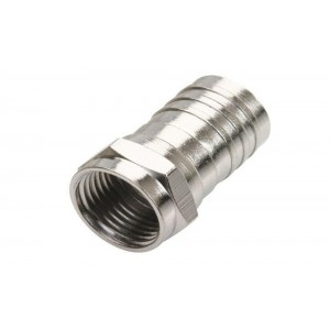 C&E® F Hex Crimp Connector RG6