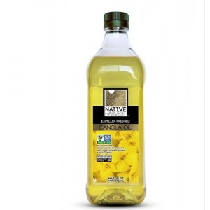 Native Harvest Expeller Pressed Non-GMO Canola Oil, 1 Litre