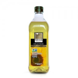 Native Harvest Expeller Pressed High Oleic Non-GMO Sunflower Oil, 1 Litre (33.8 FL OZ)