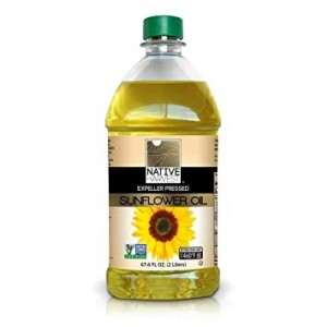 Native Harvest Expeller Pressed High Oleic Non-GMO Sunflower Oil, 2 Litre (67.6 FL OZ)