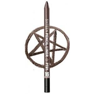 [16 Brand] 16 Pencil Liner PT01 Brown