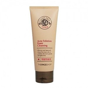 The Face Shop Cleanface Acne Solution Foam Cleansing 150ml