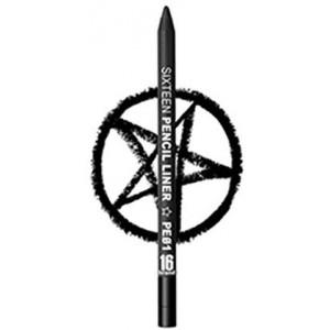 [16 Brand] 16 Pencil Liner PE01 Black