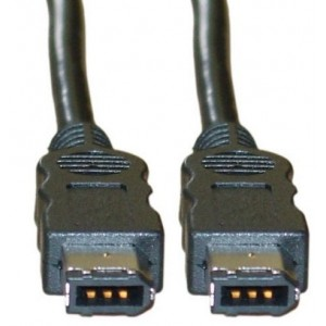 C&E® 3-FOOT FIRE WIRE 400 6-PIN CABLE, IEEE-1394A (CNE25538)