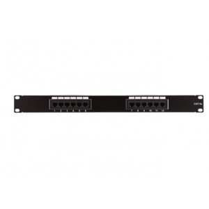 12 PORT CAT5E PATCH PANEL (CNE75624)