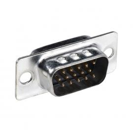 C&E® CNE34901 DB9 Male D-Sub Connector, Solder Type