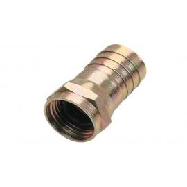 C&E® F Hex Crimp Connector RG6 O Ring